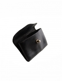 Guidi EN01 black horse leather coin purse wallets buy online