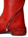 Stivale in pelle rossa con cerniera a spirale AM/2601L SBUC-PTC/13 acquista online