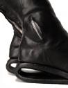 Stivali in pelle nera con inserto in metallo AF/0907P CORS-PTC/010 acquista online