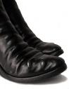 Stivali in pelle nera con inserto in metallo prezzo AF/0907P CORS-PTC/010shop online