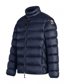 Parajumpes Dillon blue quilter jacket without hood price