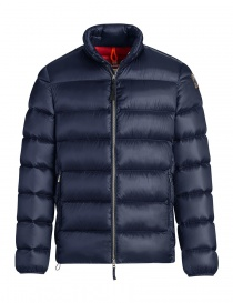 Parajumpes Dillon blue quilter jacket without hood online