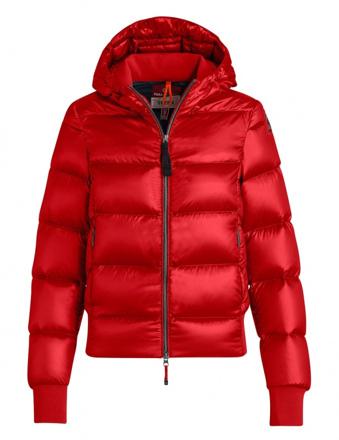 Parajumpers Mariah red quilted jacket with hood PW JCK SX32 MARIAH 723 womens jackets online shopping
