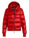 Piumino Parajumpers Mariah rosso con cappuccio acquista online PW JCK SX32 MARIAH 723