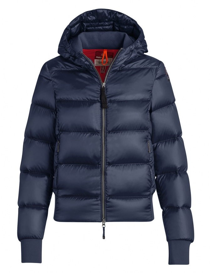 Parajumpers Mariah blue navy quilted jacket with hood PW JCK SX33 MARIAH 706 womens jackets online