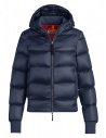 Parajumpers Mariah blue navy quilted jacket with hood buy online PW JCK SX32 MARIAH 706