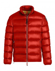 Parajumpes Dillon red quilter jacket without hood online