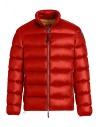 Piumino Parajumpes Dillon rosso senza cappuccio acquista online PM JCK SX02 DILLON 723