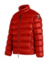 Parajumpes Dillon red quilter jacket without hood shop online mens jackets