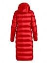 Piumino lungo Parajumpers Leah rosso con cappuccio PW JCK SX33 LEAH 723 prezzo