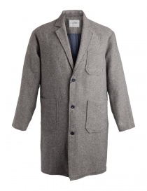 Mens coats online: Camo Ribot Grey coat