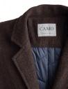 Cappotto Camo Ribot marrone tabacco AD0047 RIBOT BROWN prezzo