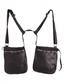 Guidi double bag with lashing