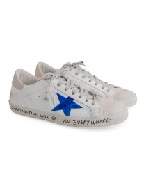 Golden Goose Superstar shoes with drawn star online
