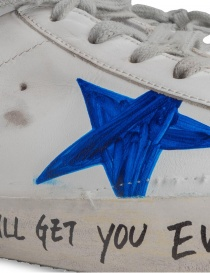 Golden Goose Superstar shoes with drawn star mens shoes price