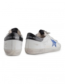 Golden Goose Superstar sneakers with blue star price