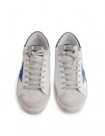 Scarpe Golden Goose Superstar stella blu calzature uomo acquista online