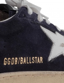 Navy blue Golden Goose Ballstar with SNEAKERS writing buy online price