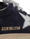 Navy blue Golden Goose Ballstar with SNEAKERS writing price G33MS592 M6 shop online