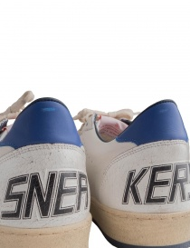Golden Goose white Ballstar sneakers with red star mens shoes price