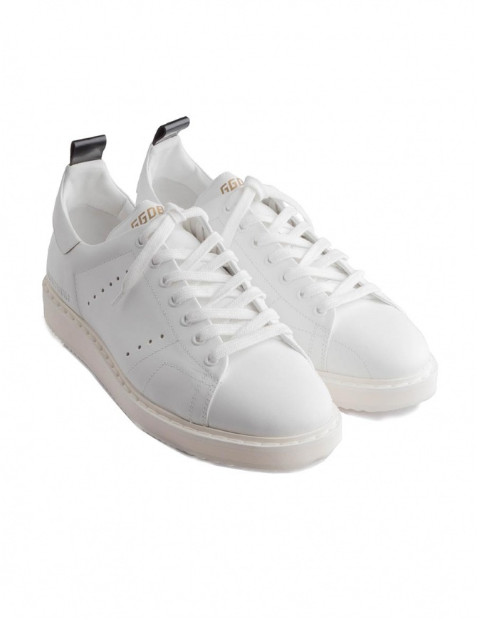 Golden Goose Starter white shoes GCOMS631 A1 mens shoes online shopping