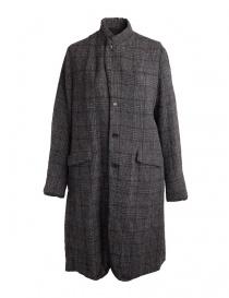 Cappotto grigio Pas De Calais con spacco sul retro online