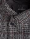 Cappotto grigio Pas De Calais con spacco sul retro 13 80 9544 CHARCOAL prezzo