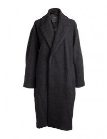 Cappotto nero da donna Pas de Calais con sfumature grigie 13 80 9550 BLACK