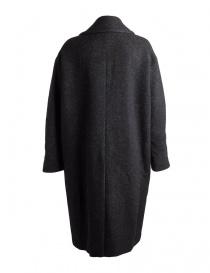 Cappotto nero da donna Pas de Calais con sfumature grigie