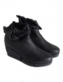 Womens shoes online: Trippen Trippet Black Ankle Boots