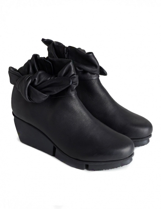 Trippen Trippet Black Ankle Boots TRIPPET F BLK VST womens shoes online shopping