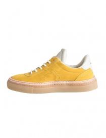 Sneakers BePositive gialle scamosciate da uomo