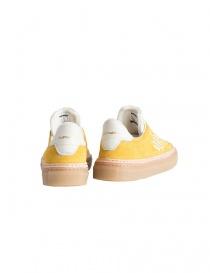 BePositive yellow suede sneakers for men mens shoes buy online