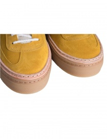 BePositive yellow suede sneakers for women womens shoes price