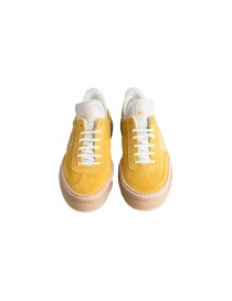BePositive yellow suede sneakers for women buy online