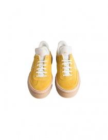 Sneakers BePositive scamosciate gialle da donna