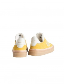 BePositive yellow suede sneakers for women womens shoes buy online