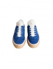 BePositive cobalt blue suede senakers for men