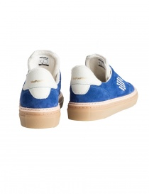BePositive cobalt blue suede senakers for men mens shoes buy online