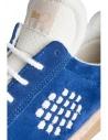 BePositive cobalt blue suede senakers for men  price 8FARIA14/SUE/ROY-ROX shop online