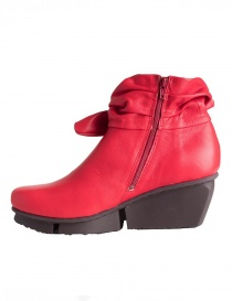 Trippen Trippet Red Ankle Boots