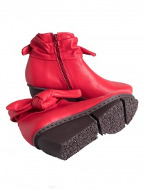 Trippen Trippet Red Ankle Boots womens shoes buy online