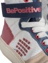 Sneakers alte BePositive Veeshoes bianche rosse blu da donna prezzo 8FSUONO03/LEA/WRN-TRACKshop online