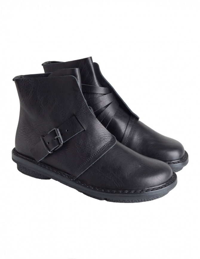 Trippen Black Nimble Ankle Boots NIMBLE F BLK WAW womens shoes online shopping