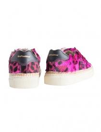 BePositive Anniversary fuchsia leopard-skin sneakers for women price