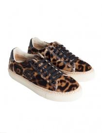 Sneakers BePositive Anniversary leopardate da donna 8FWOARIA01/HOR/LEO