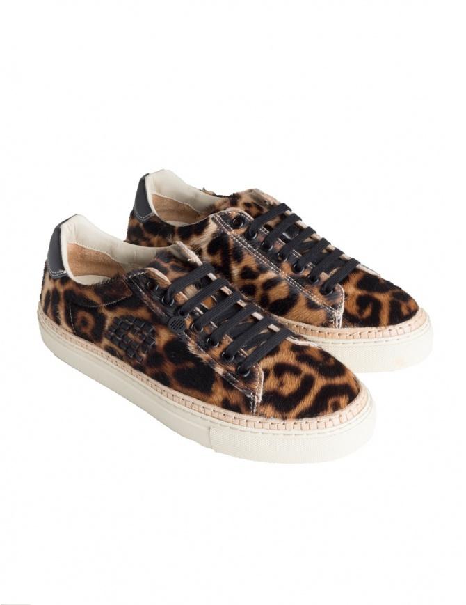 Sneakers BePositive Anniversary leopardate da donna 8FWOARIA01/HOR/LEO calzature donna online shopping