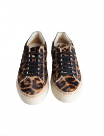BePositive Anniversary leopard-skin sneakers for women
