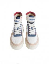 Sneakers alte BePositive Veeshoes bianche rosse blu da uomo prezzo