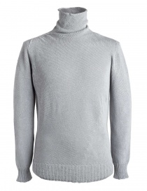 Mens knitwear online: Carol Christian Poell gray turtleneck sweater